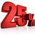 25 · percentagem · taxa · ícone · branco · vinte - foto stock © threeart