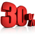 красный · тридцать · процент · знак · белый · бизнеса - Сток-фото © threeart