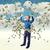 3D · empresario · vuelo · dólar · 3d · hombre - foto stock © tiero