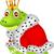 sapo · príncipe · desenho · animado · verde · isolado - foto stock © tigatelu