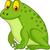cute frog cartoon stock photo © tigatelu