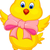 cute baby chicken cartoon stock photo © tigatelu