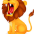 lion roaring stock photo © tigatelu