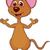 cute · rat · blij · gezicht · illustratie · gelukkig · muis - stockfoto © tigatelu