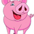 funny pig cartoon stock photo © tigatelu