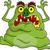 ugly monster cartoon untitled stock photo © tigatelu