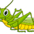 Grasshopper Cartoon stock photo © tigatelu