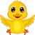 cute baby duck cartoon stock photo © tigatelu