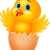 tavasz · húsvét · csirke · születés · illusztráció · pici - stock fotó © tigatelu