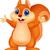sevimli · sincap · karakter · karikatür · örnek - stok fotoğraf © tigatelu