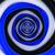 синий · спиральных · вихревой · звезды · иллюстрация · черный - Сток-фото © timbrk