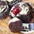 friss · minitorta · muffin · fehér · csokoládé · krém - stock fotó © tish1