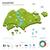 Singapore · vector · ingesteld · gedetailleerd · land · vorm - stockfoto © tkacchuk
