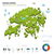 enerji · sanayi · ekoloji · Hong · Kong · vektör · harita - stok fotoğraf © tkacchuk