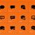 szövegbuborék · ikonok · narancs · felirat · léggömb · ír - stock fotó © tkacchuk