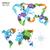 abstrato · vetor · cor · mapa · mundo · transparente - foto stock © tkacchuk