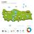 地図 · トルコ · アンカラ · 外に · 孤立した · 白 - ストックフォト © tkacchuk