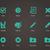 vektor · csekk · osztályzat · ikonok · háló · mobil - stock fotó © tkacchuk