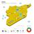 mapa · Síria · político · vários · abstrato · terra - foto stock © tkacchuk