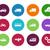 vervoer · cirkel · iconen · witte · auto · ontwerp - stockfoto © tkacchuk