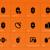 fitness · icone · arancione · alimentare · corpo · mela - foto d'archivio © tkacchuk