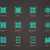 tabletta · processzor · ikon · vektor · illusztráció · üzlet - stock fotó © tkacchuk