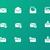 boletim · informativo · site · elemento · verde · envelope · projeto - foto stock © tkacchuk
