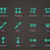 pantalla · táctil · gesto · dedos · vector · tecnología · dedo - foto stock © tkacchuk