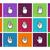 ícones · mouse · mãos · tecnologia · assinar - foto stock © tkacchuk