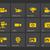 app · design · giallo · foto · fotocamera · icona - foto d'archivio © tkacchuk
