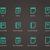 вектора · буфер · обмена · квадратный · икона · пусто - Сток-фото © tkacchuk