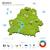 térkép · Fehéroroszország · politikai · néhány · absztrakt · Föld - stock fotó © tkacchuk