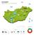 energia · indústria · ecologia · Hungria · vetor · mapa - foto stock © tkacchuk