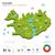 enerji · sanayi · ekoloji · İzlanda · vektör · harita - stok fotoğraf © tkacchuk