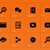 Новости · дизайна · оранжевый · речи · иллюстрация · говорить - Сток-фото © tkacchuk