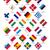 zászlók · EU · országok · vektor · integet · fehér - stock fotó © tkacchuk