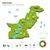 térkép · Pakisztán · politikai · néhány · absztrakt · világ - stock fotó © tkacchuk