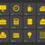 ofis · iş · simgeler · temeller · vektör · web - stok fotoğraf © tkacchuk