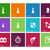 playing chess icons on color background stock photo © tkacchuk