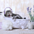 кошки · жемчужная · ванна · небольшой · серый · воды - Сток-фото © tobkatrina