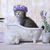 Cute · прелестный · котенка · ванна · расслабляющая · смешные - Сток-фото © tobkatrina