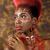 表現の · アフリカ系アメリカ人 · 女性 · 劇的な · 照明 · 美しい - ストックフォト © tobkatrina