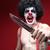 кровавый · Хэллоуин · Crazy · убийца · молодым · человеком · кровь - Сток-фото © tobkatrina