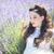 かなり · 若い女の子 · 屋外 · ラベンダー · 花畑 · 美しい - ストックフォト © tobkatrina