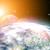 sole · terra · pianeta · abstract · sfondi - foto d'archivio © tolokonov