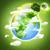 aarde · maan · illustratie · aarde · 3d · render · kaarten - stockfoto © tolokonov