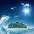 水 · バブル · 海の波 · 環境の · 背景 · 空 - ストックフォト © tolokonov