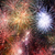 résumé · feu · horizons · collage · réel · feux · d'artifice - photo stock © tolokonov
