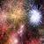 abstract · brand · achtergronden · collage · echt · vuurwerk - stockfoto © tolokonov