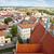 Chelmno old town - aerial view. stock photo © tomasz_parys